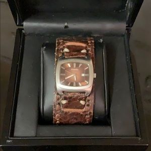 Fossil Watch- Unisex - 29mm SS / Leather